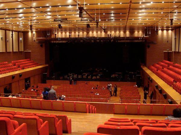 Sala Sinipoli. Auditorium Parco della Musica