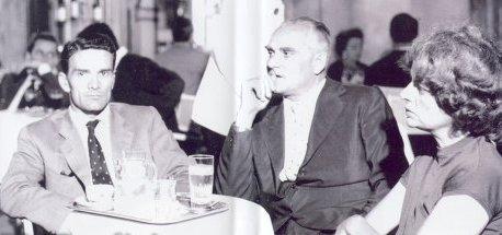 Pasolini, Alberto Moravia e Elsa Morante