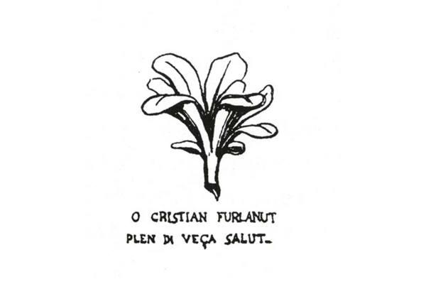 """Academiuta di lenga furlana"". Emblema e motto"