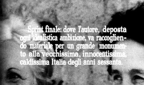 """""""Comizi d'amore"""" (1963-65). Cartello"""
