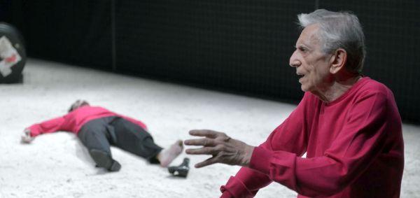 """Roberto Herlitzka in """"Una giovinezza enormemente giovane"""""""