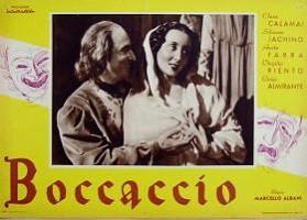 """""""Boccaccio"""" di Marcello Albani (1940)"""