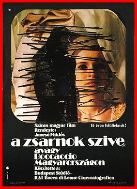 """""""Il cuore del tiranno"""" di  Miklós Jancsó (1981)"""