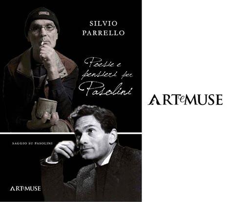 """""""Poesie e pensieri per Pasolini"""" di Silvio Parrello. Copertina"""