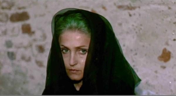 """Laura Betti in """"Teorema"""" (1968)"""
