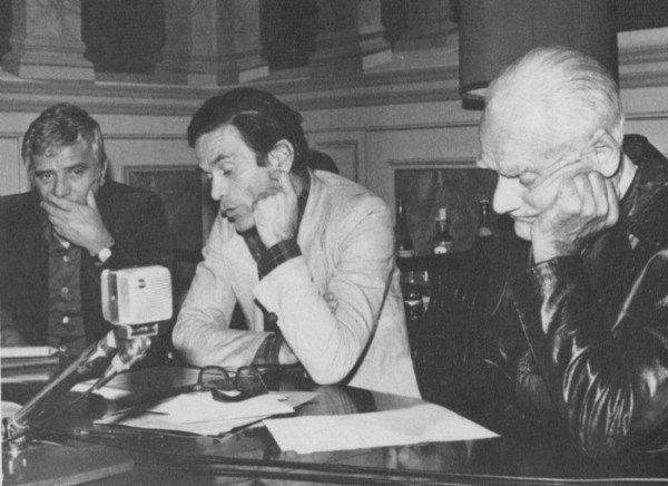 Nico Naldini, Pasolini e Moravia (1974)