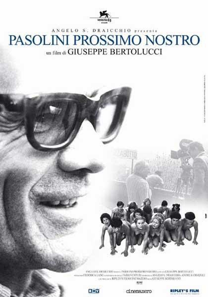 """""""Pasolini prossimo nostro"""" di GiuseppeBertolucci. Copertina"""