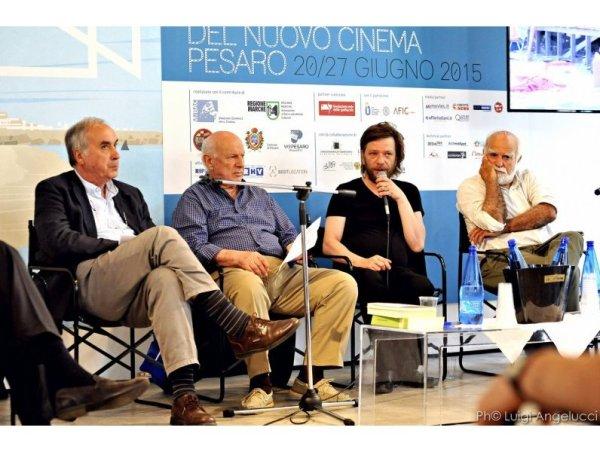 Tavola rotonda su Pasolini alla 51.ma  Mostra del Nuovo Cinema di Pesaro