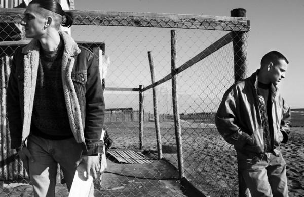 """""""Non essere cattivo"""" (2015)  di Claudio Caligari. Con Luca Marinelli e Borghi"""