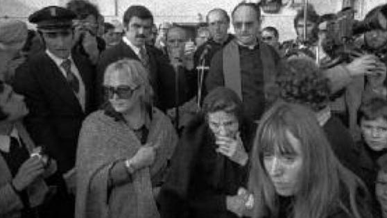 """""""I funerali di Pasolini"""". Foto di Claudio Ernè"""