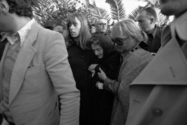 I funerali di Pasolini a Casarsa. Foto di Claudio Ernè
