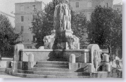 Roma. Piazza Testaccio