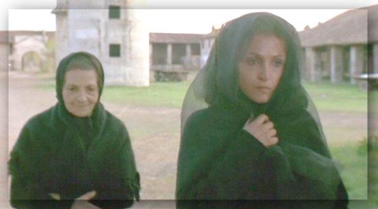 """Susanna Colussi e Laura Betti in """"Teorema"""" (1968)"""