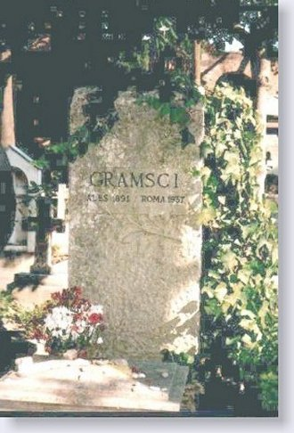 Roma. La tomba di Gramsci