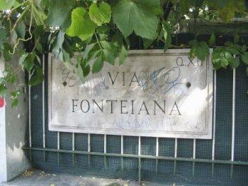 Via Fonteiana a Monteverde