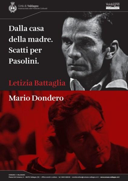 Mostra fotografica per Pasolini a Valdagno. Cartolina