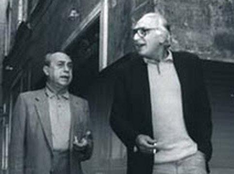 Leonardo Sciascia e Marco Pannella