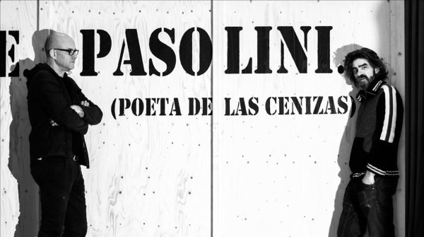 """Alex Rigola (sx) e Gonzalo Cunill per """"Who is me. PasoIini"""""""