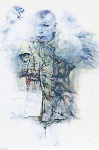 """""""Si arrende"""", opera di Vespignani"""