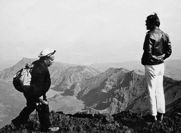 Pasolini sull'Etna. Foto di Salvatore Tomarchio