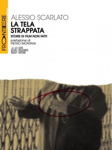 """""""La tela strappata"""" di Alessio Scarlato. Copertina"""