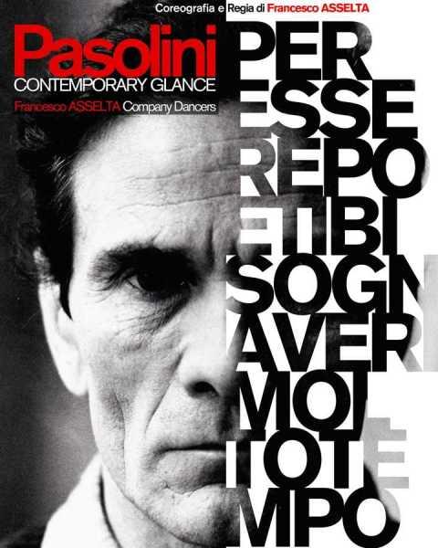 """""""Pasolini-Contemporary Glance"""" a Fondi. Maifesto"""