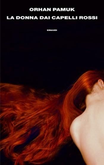 """""""La donna dai capelli rossi"""" di Orhan Pamuk. Copertina"""