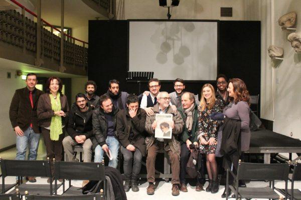 """""""Passaporto Nansen"""" alla presentazione al Teatro Argentina di Roma (24 marzo 2018)"""
