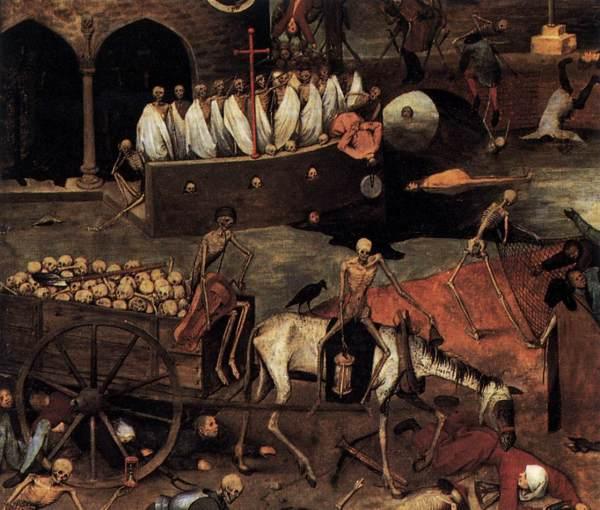 """""""Il Trionfo della morte"""" di Bruegel il Vecchio"""
