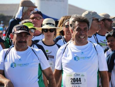 Participación  del CACT team en la Wine Run Lanzarote 2017