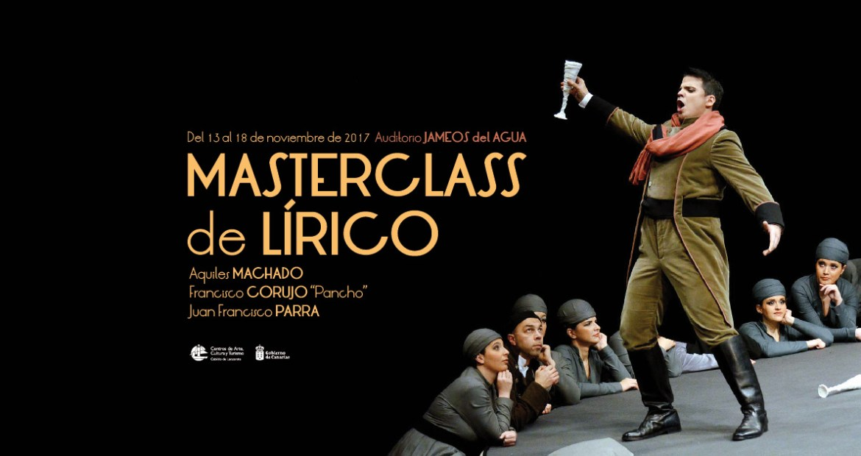 Master class canto lírico Jameos del Agua