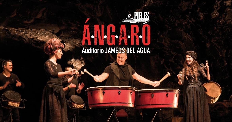 Ángaro vuelve a Jameos del Agua Lanzarote