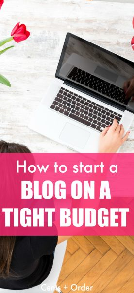 Are you a stay at home mom looking for a way to earn income? Or maybe you are looking for a way to bring in extra money to meet your financial goals? You can start a blog without spending much money and make money from home!