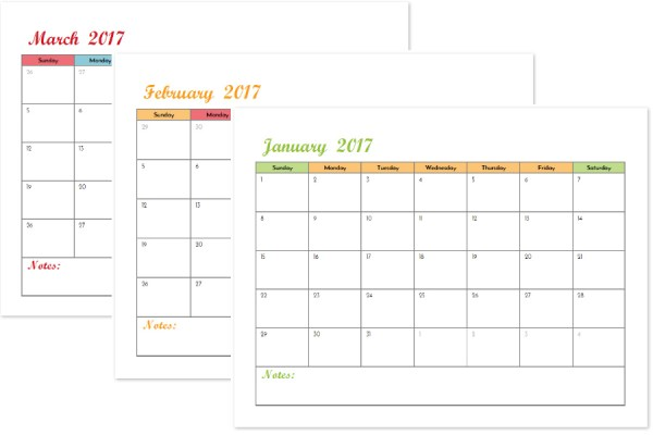 Blank 2017 monthly calendars are great for tracking your bill due dates, pay days, and more! This printable budget binder includes 20+ pages of financial printables for 2017. Find out how to set up your binder and get your finances organized today!