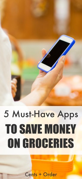 The best money saving apps for slashing your grocery bill! Don't miss this top 5 list of grocery rebate and coupon apps to cut your food costs!