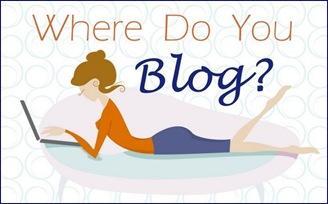 lady blogger button
