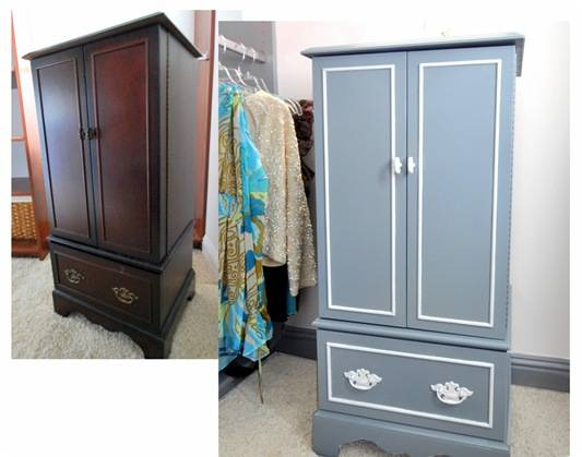jewelry chest before and after