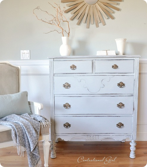 Barely Gray Dresser  Centsational Style