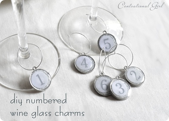 Wine Charm Tutorial from Centsational Girl