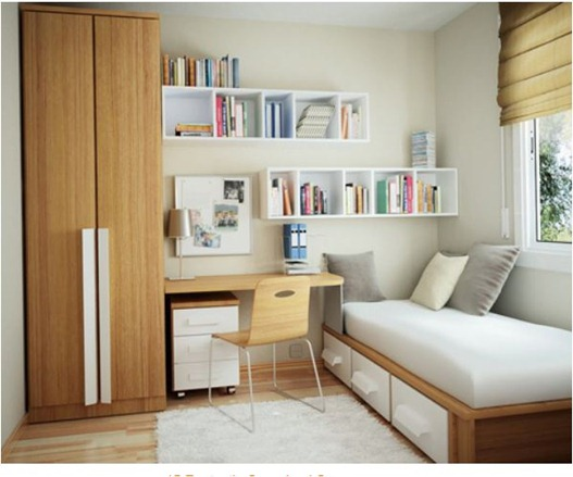 home office guest bedroom design ideas Small Space Solutions: Home Offices | Centsational Girl
