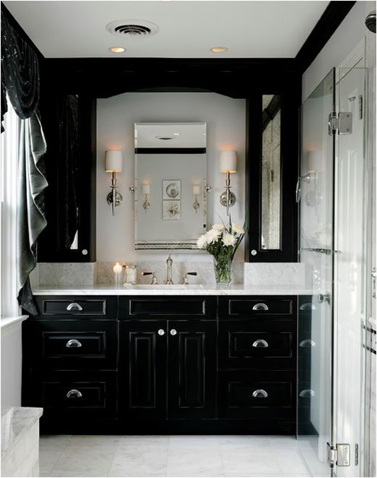 Decorating with Black  Centsational Style