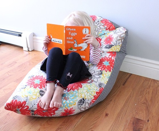 summertime beanbag diy