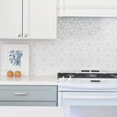 Glass Tile Kitchen Backsplash Runners Remodel 10 Lessons Centsational Style