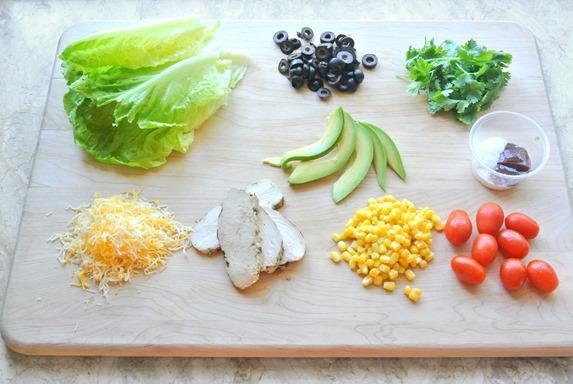 southwest bbq ranch salad