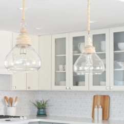 Kitchen Chandelier Lighting Replacing Fluorescent Light Fixtures Remodel 10 Lessons Centsational Style