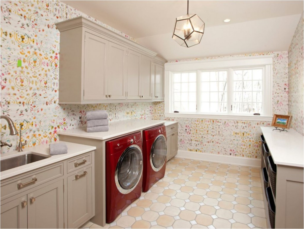 eskuche wallpaper laundry room