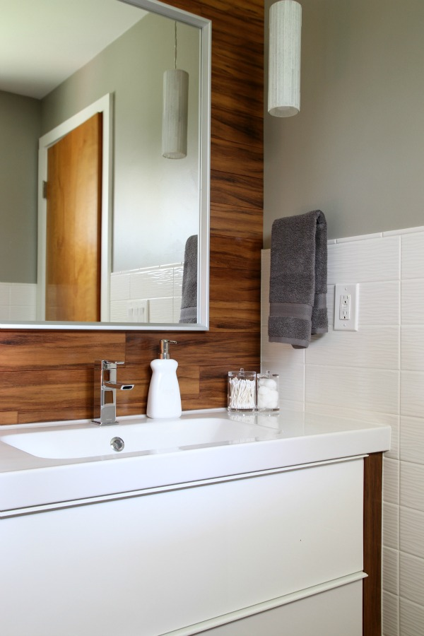 modern bathroom makeover
