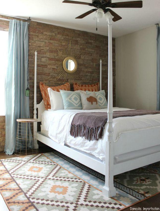 soutwest style bedroom