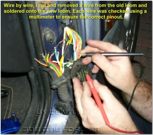 Peugeot 306 Wiring Colours