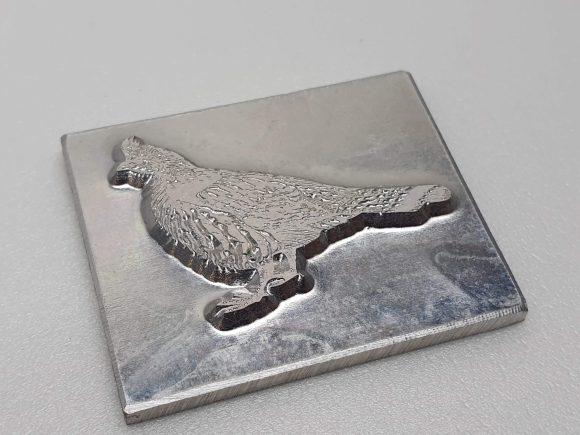 Example Magnesium Letterpress Printing plate